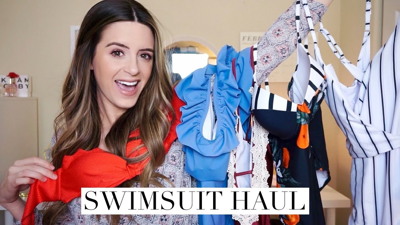 9eff161b6d06d AFFORDABLE SWIMWEAR HAUL feat. Cupshe! - YouTube