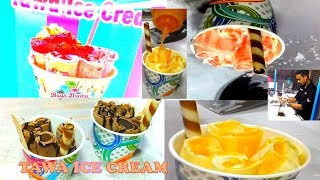 How to make Tawa Ice Cream | Bugs Bunny Tawa Ice Cream | Street Food  | By Wow! Healthy Desi Food