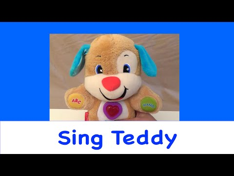 Fisher Price Laugh And Learn Stages Singing Talking Play Soft Puppy Toy [Complete Songs] Fun Baby