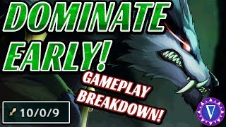 How To Be An Oppressive Early Game Jungler Ft. Warwick (Gameplay Breakdown)