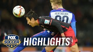 Video Gol Pertandingan Hertha Berlin vs Eintracht Frankfurt