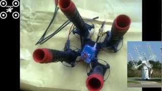 1st EVER? 5.8GHz RED ANTZ 4x 12 TURN HELICAL HELIX ANTENNA ARRAY BUILD n3m1s1s