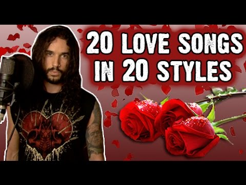 "Metallica, Pantera, Type O Negative ""sing"" about love in ""20 Love Songs In 20 Styles"""