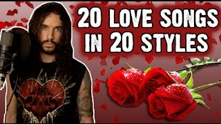 20 Love Songs In 20 Styles - Valentines Day | Ten Second Songs