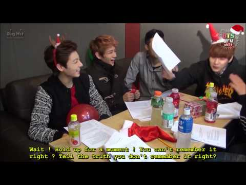 {ENG SUB} [BTS 꿀 FM 06.13] The very happy Christmas with BTS! (1/2)