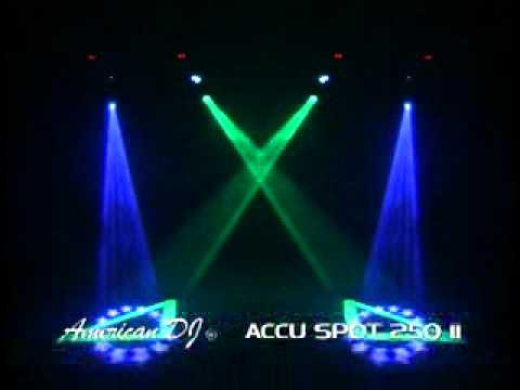 American DJ Accu spot 250 II
