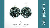 Soutache earrings by serena di mercione swarovski elements. Купить сутажный кулон тёмно-зелёный, сутаж, сутажные украшения, сутажный кулон,