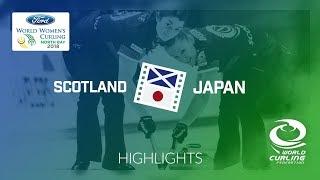 HIGHLIGHTS: Scotland v Japan – Round-robin – Ford World Women's Curling Championship 2018
