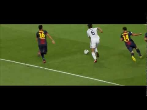 Sami Khedira Owns Barcelona Players (Humiliation) 2012