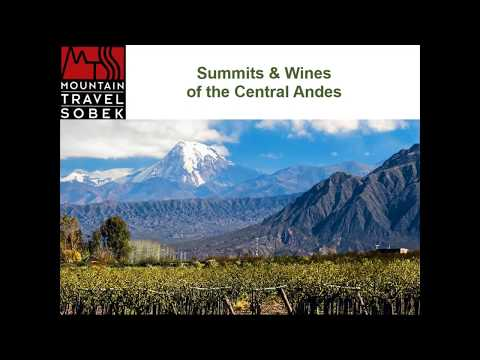 Summits and Wines of the Central Andes with Victor Garra
