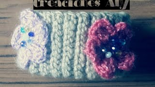 PUNTO RESORTE A CROCHET