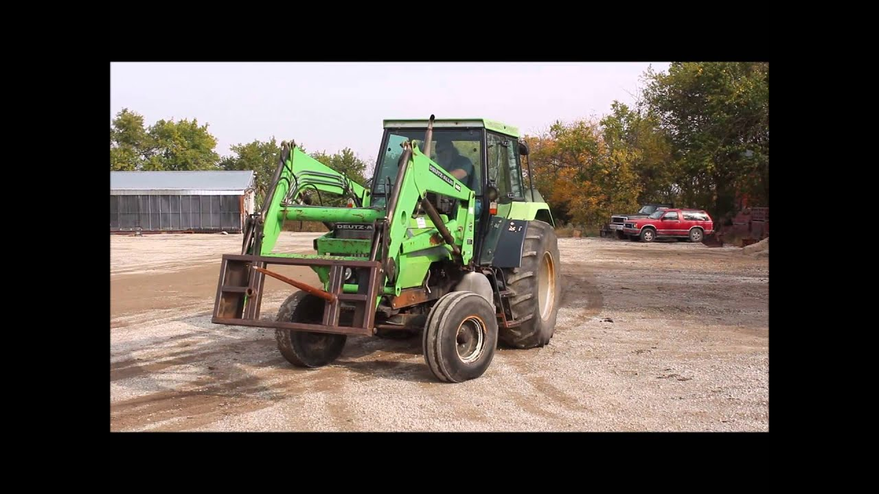 Deutz allis 6265 tractor for sale sold at auction november 19 2014 youtube