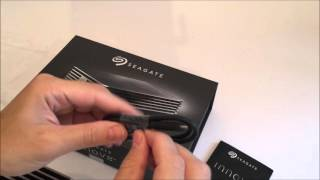 Seagate Innov8 Review and Unboxing - 200MB/sec+ 8TB external storage drive