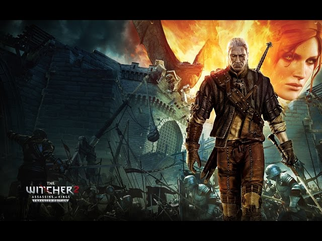 The Witcher 2 - A velha do biscoito de polvilho - Gameplay