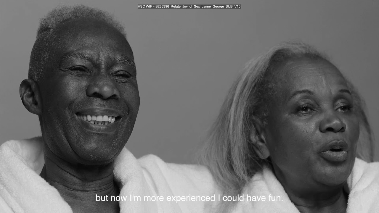 Let's talk the joy of later life sex - Lynne and George