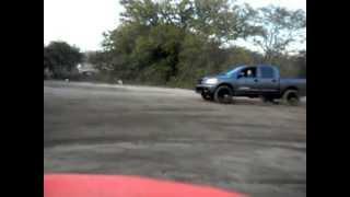 2008 Nissan Titan slidin