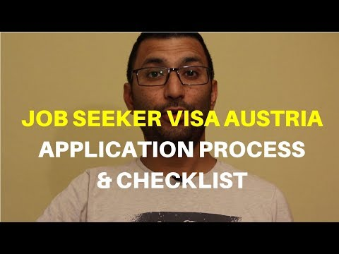 Job Seeker Visa Austria Application Process | Job Seeker Visa Austria Documents Checklist