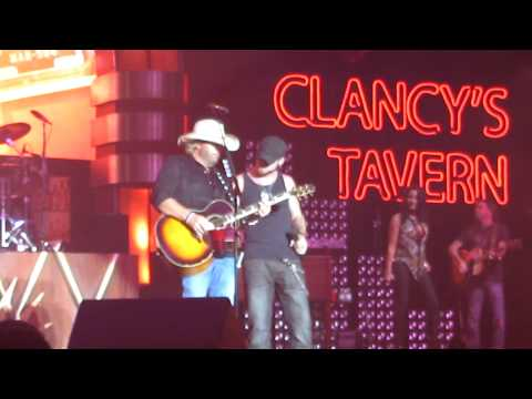 Toby Keith and Brantley Gilbert WHISKEY GIRL in VEGAS