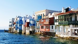 Find Your Way to Little Venice - Aleykantra of Mykonos.