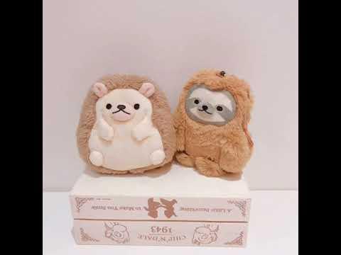 現貨-Petit colon樹懶票卡夾【萊爾富免運】日本可愛動物造型票卡零錢包 伸縮票卡包 療癒系票夾
