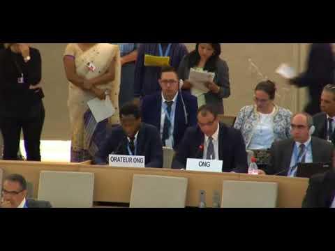 36th Session Human Rights Council - General Debate Item 6 (English) - Mr. Hegazi
