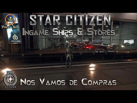 Star Citizen 4K - InGame Ships & Stores - ¡¡Nos vamos de compras!! #SC #StarCitizen #Squadron42