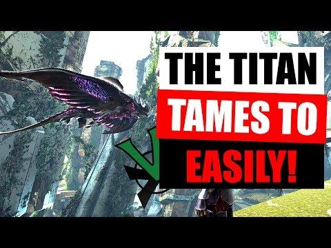 TAMING THE DESERT TITAN WITH TAPEJARA! | ARK PVP EXTINCTION | #ThisIsARK EP15