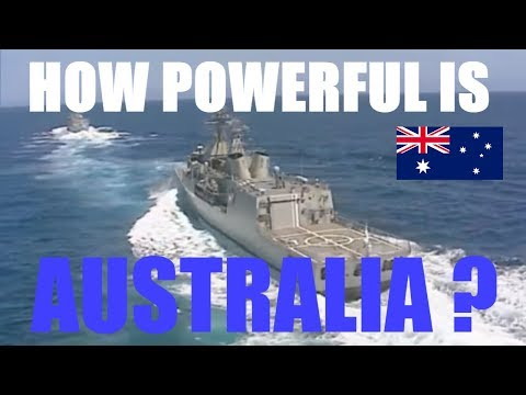 HOW STRONG IS AUSTRALIA ? | military power