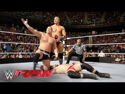 The Shining Stars vs. local athletes: Raw, May 16, 2016