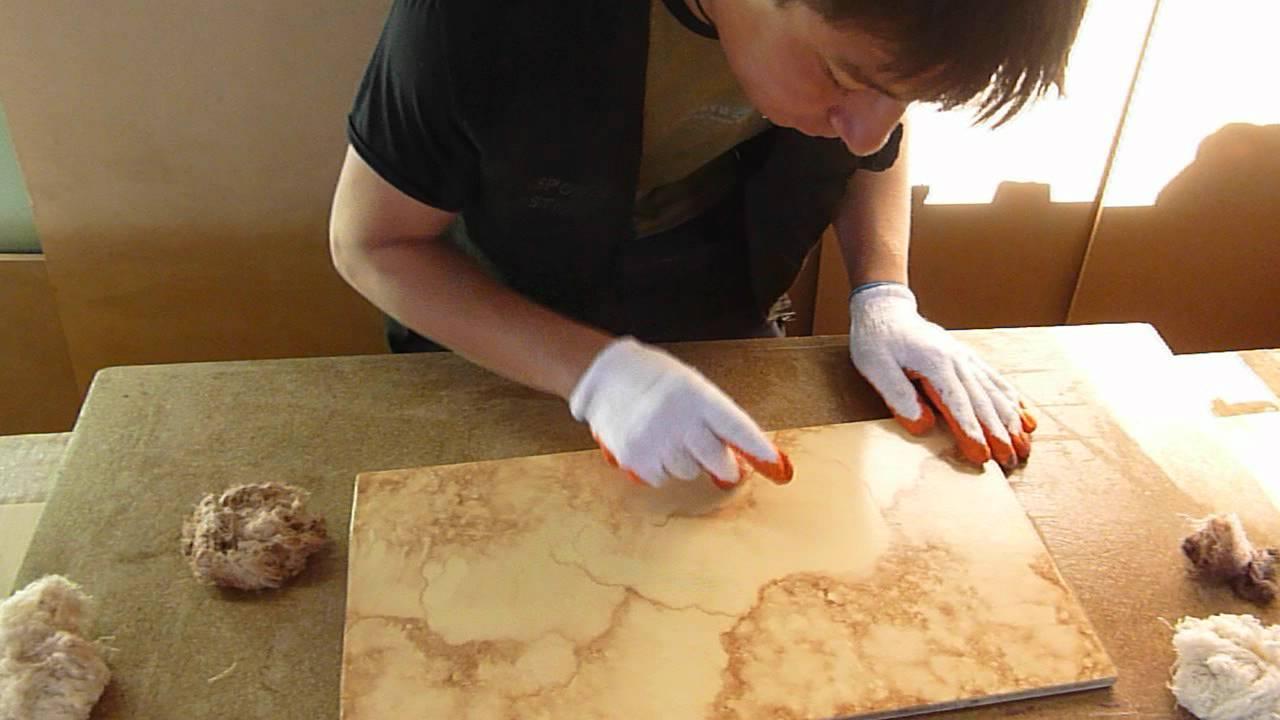 Imitacion a piedra marmol youtube for Como hacer un piso de cemento paso a paso