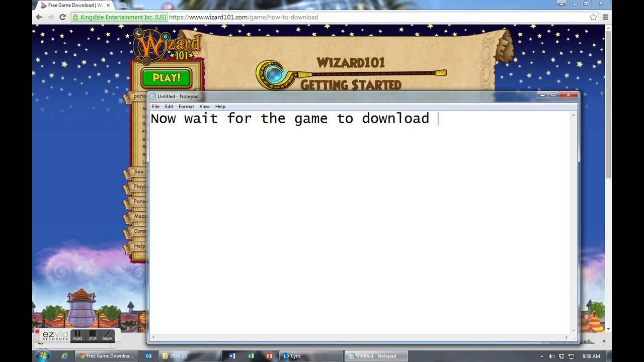 How To Download Wizard101 Youtube