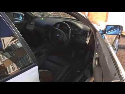 BMW E46 - How To Fix A Stiff Door Handle - YouTube