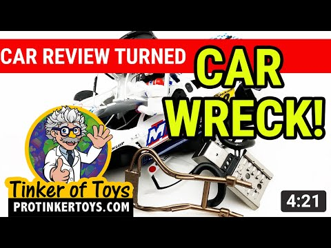 Car Review TURNED CAR WRECK! Saleen S7R Campeon De Espana GT 2001 #88020 | Fly Car