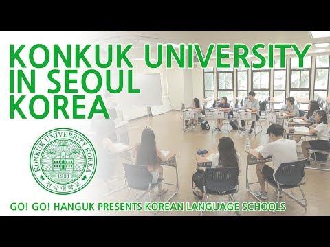 Go! Go! Hanguk Presents: Konkuk University in Seoul