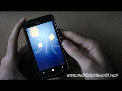 HTC 7 Trophy Windows Phone 7 device Review: Software Tour
