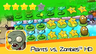 Plants vs  Zombies™ HD Adventure 2 Pool 09 Walkthrough The zombies are coming! Recommend index five