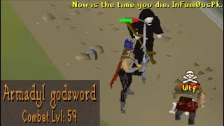 Level 59 with AGS Pking (Powerful Account)