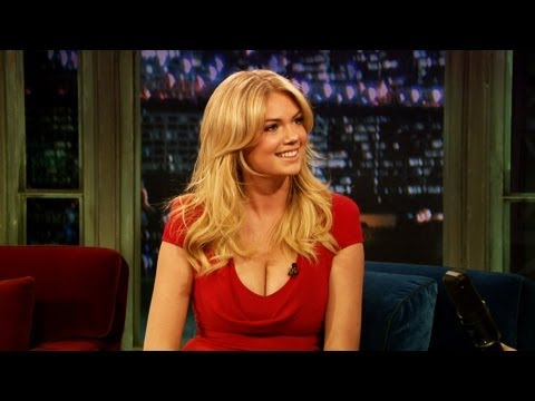 Kate Upton on Her SI Cover (Late Night with Jimmy Fallon) - YouTube
