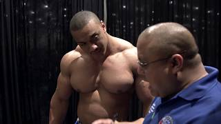 Larry Wheels 2291 total/ knee sleeves PR at 275.5lbs worlds biggest meet KernUS open