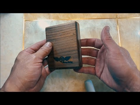 Handmade Wooden Wallet 2.0