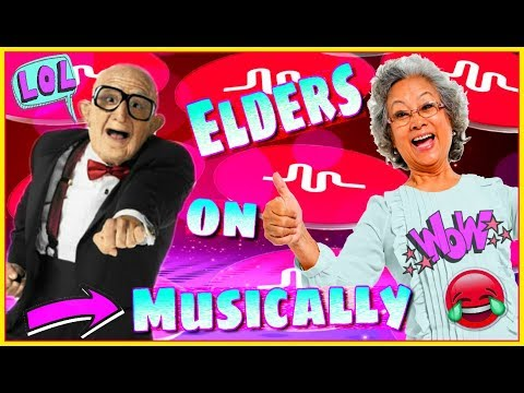 Grandparents Try Musical.ly For The First Time! Try Not To Laugh Challenge 2018