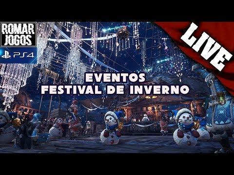 ?Monster Hunter World - Festival de Inverno! Borracha neles PS4 PT-BR thumbnail