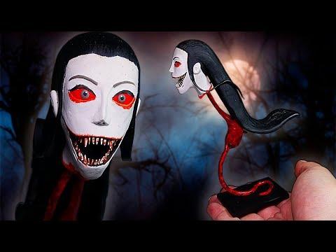 Making KRASUE ★ Eyes: The Horror Game ➤ Polymer clay Tutorial (Handicraft) thumbnail