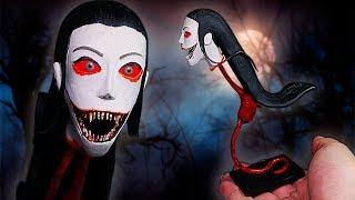 Making KRASUE ★ Eyes: The Horror Game ➤ Polymer clay Tutorial (Handicraft)