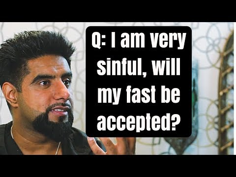 Q: I am very sinful, will my fast be accepted? Mufti Abu Layth