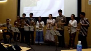 PPI Todai - Manuk Dadali Angklung Performance