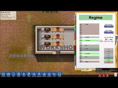 Prison Architect (Alpha 14h)  Prison Labour
