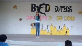 imcc bed day song solo