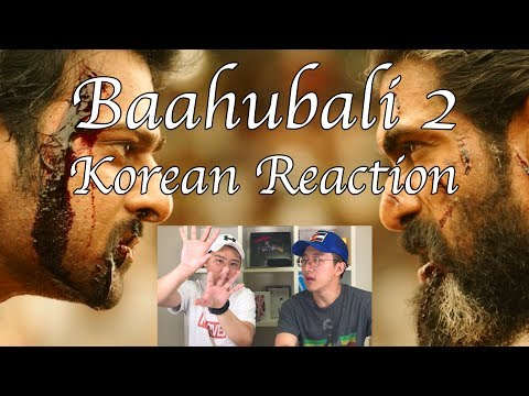 Baahubali 2 - The Conclusion l Official Trailer [KOREAN REACTION]