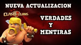 ACTUALIZACION CLASH OF CLANS OFICIAL SUPER CELL CLASH OF CLANS